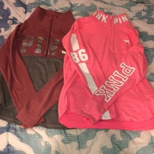 SIZE XS PINK GOOD CONDITION SWEATSHIRTS